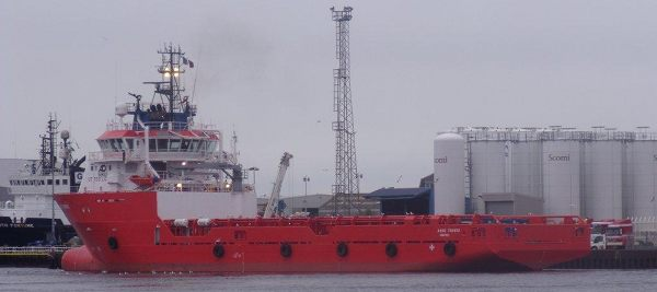 Red Support Vessel